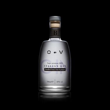 """""""O de V"""" 0,70 LT. Gin Black"""