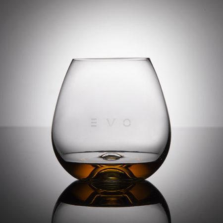 EVO il bicchiere in vassoio legno (6pz)